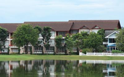 Condo by Golf Course