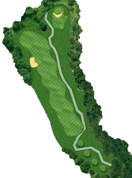 HOLE 02 Course Layout