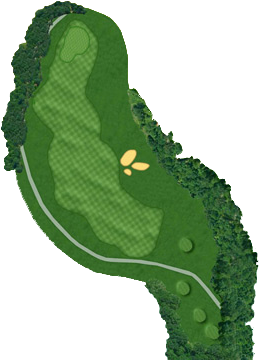 HOLE 09 Course Layout
