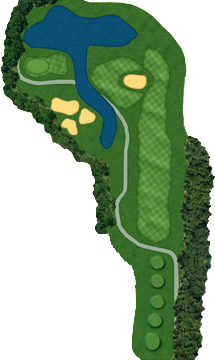 HOLE 14 Course Layout