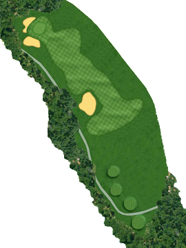 HOLE 15 Course Layout