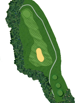HOLE 16 Course Layout