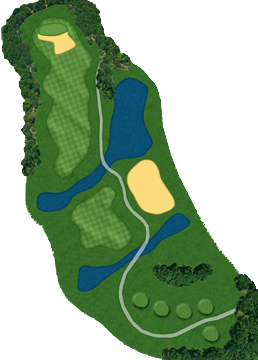 HOLE 18 Course  Layout